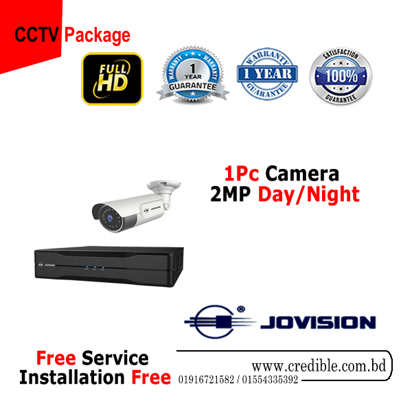 Jovision 1 pc CC Camera Package